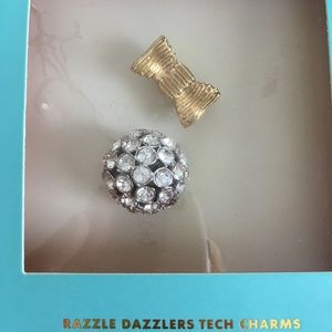 Kate Spade Razzle Dazzlers Tech charms